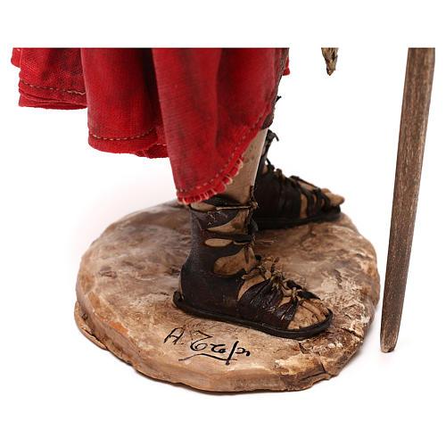 Soldato Romano presepe 30 cm atelier Tripi 6