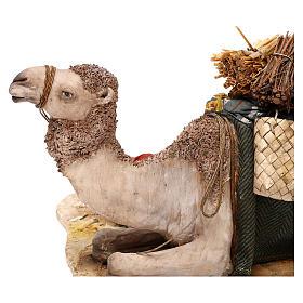 Nativity scene sleeping shepherd with camel, 18 cm by Angela Tripi s4