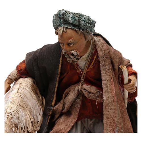 Pastor con ovejita 13 cm Angela Tripi 2