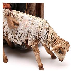 Berger avec mouton crèche 13 cm Tripi s4