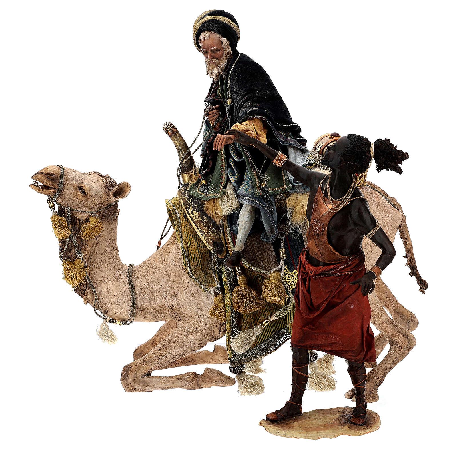 Mago con camello Angela Tripi 30 cm 4