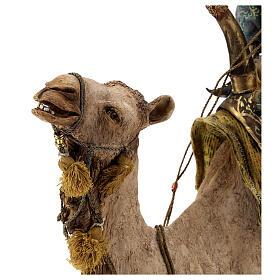 Magio a cammello e schiavo Angela Tripi 30 cm s15