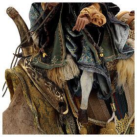 Magio a cammello e schiavo Angela Tripi 30 cm s17