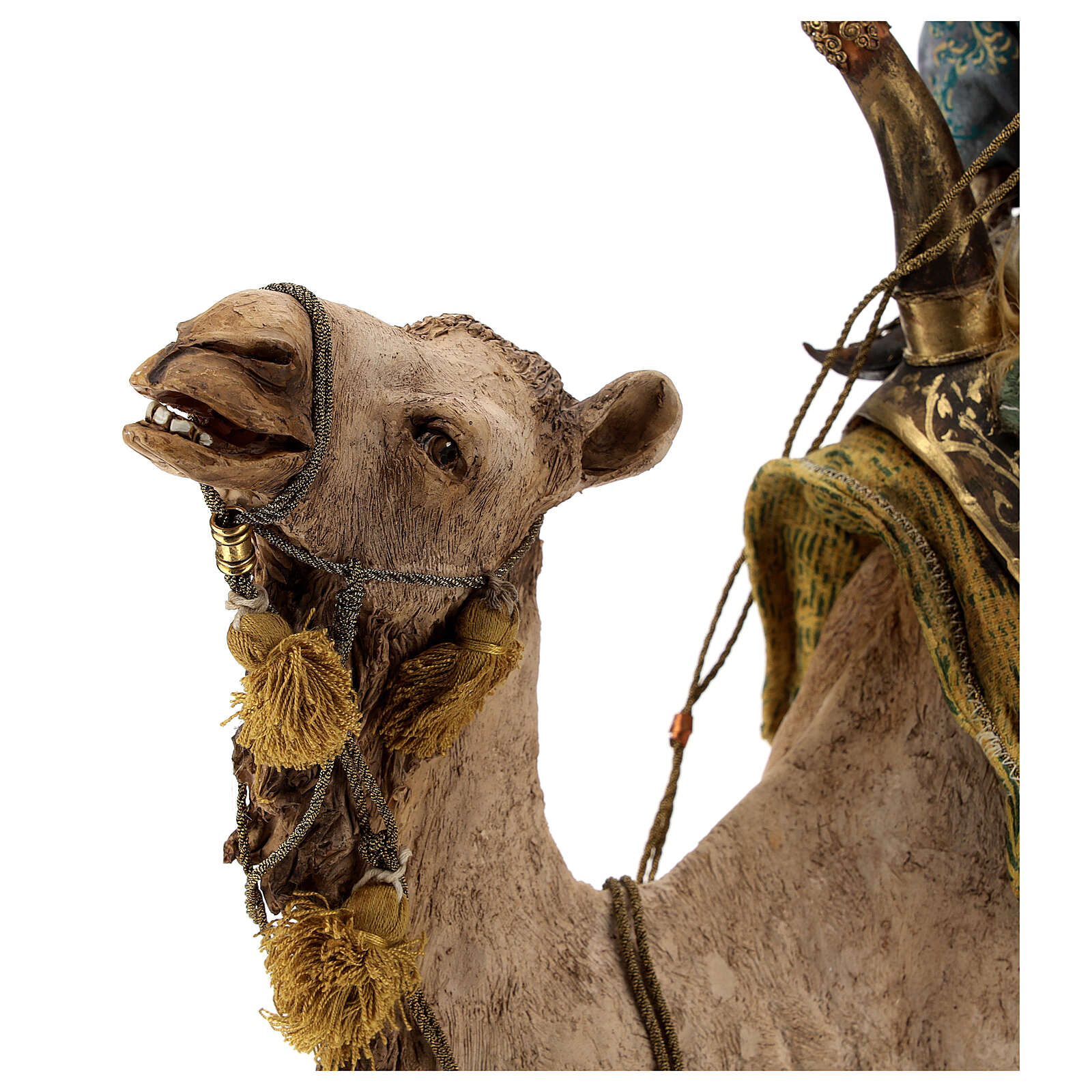 Magi on camel, Angela Tripi 30 cm 4