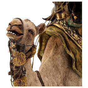Magi on camel, Angela Tripi 30 cm s7