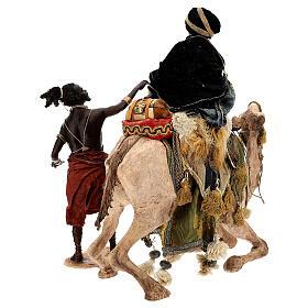 Magi on camel, Angela Tripi 30 cm s12