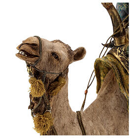 Magi on camel, Angela Tripi 30 cm s15