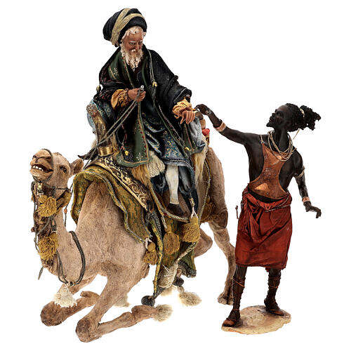 Magi on camel, Angela Tripi 30 cm 3