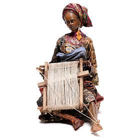 Weaver figurine, 30 cm Angela Tripi Nativity Scene s1