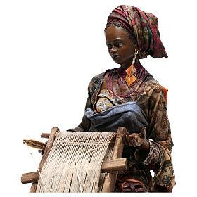 Weaver figurine, 30 cm Angela Tripi Nativity Scene s4