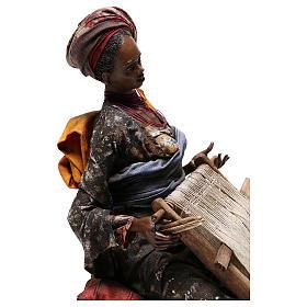 Weaver figurine, 30 cm Angela Tripi Nativity Scene s5