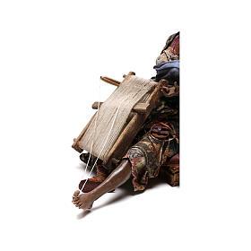 Weaver figurine, 30 cm Angela Tripi Nativity Scene s8
