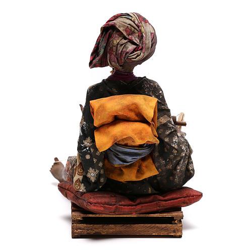 Weaver figurine, 30 cm Angela Tripi Nativity Scene 9