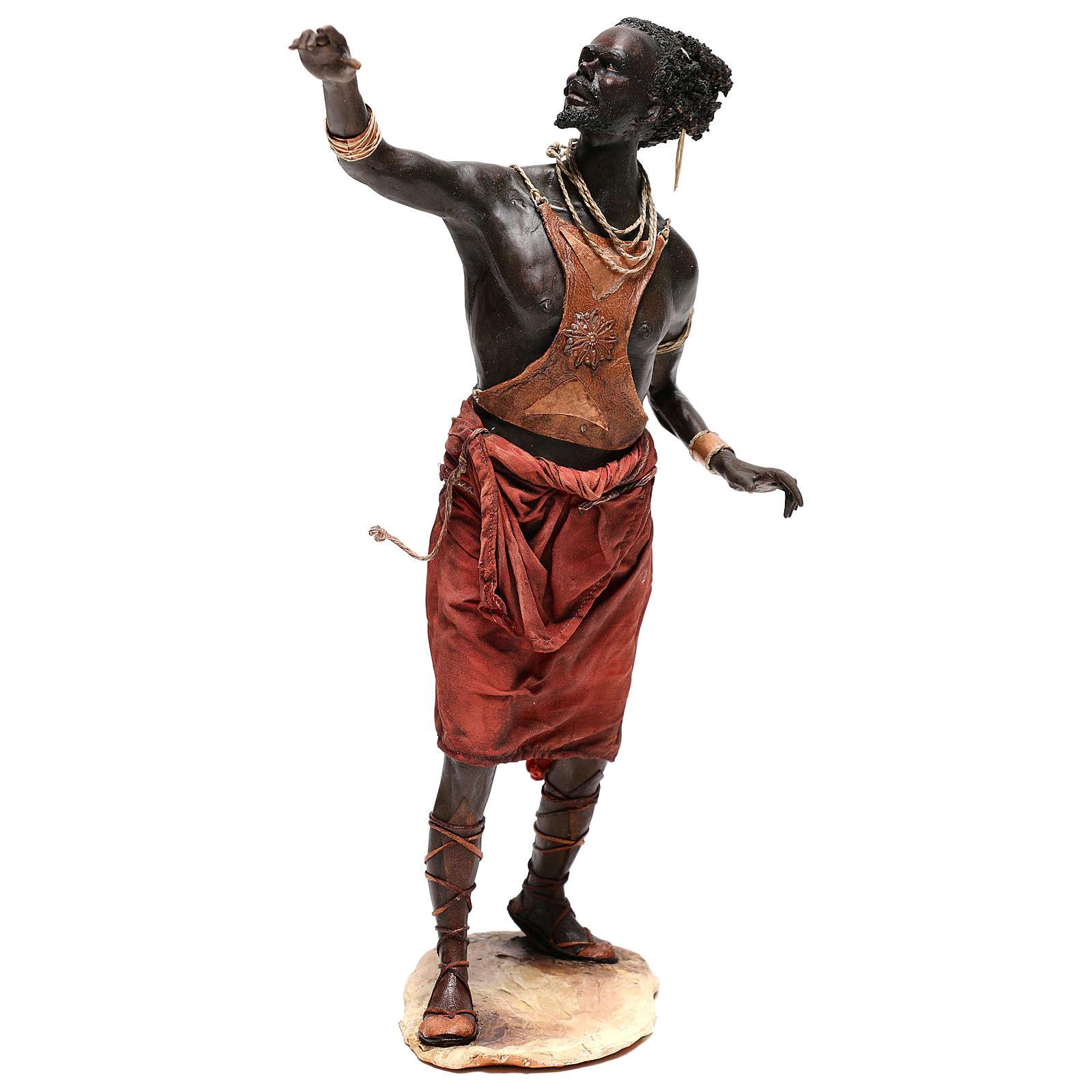 Slave with naked torso, 30 cm Tripi Nativity Scene 4