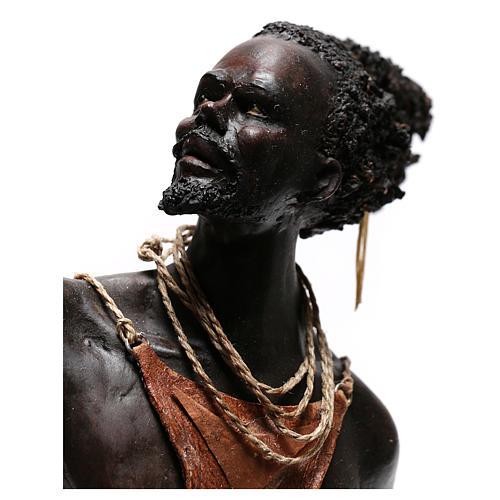 Slave with naked torso, 30 cm Tripi Nativity Scene 2