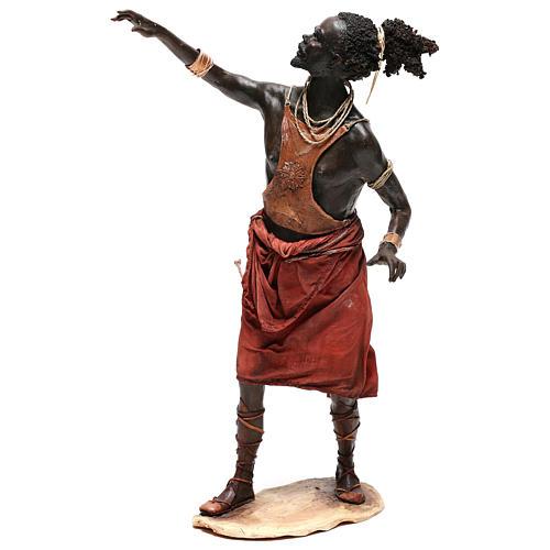 Slave with naked torso, 30 cm Tripi Nativity Scene 3