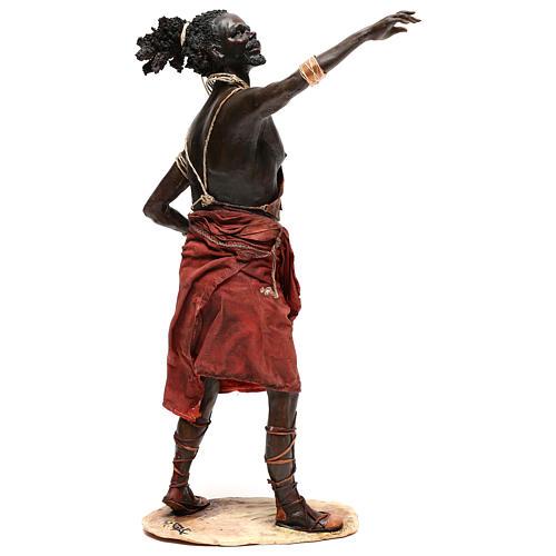 Slave with naked torso, 30 cm Tripi Nativity Scene 5