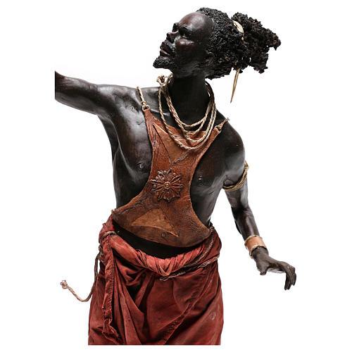Slave with naked torso, 30 cm Tripi Nativity Scene 7