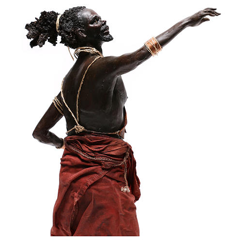 Slave with naked torso, 30 cm Tripi Nativity Scene 8