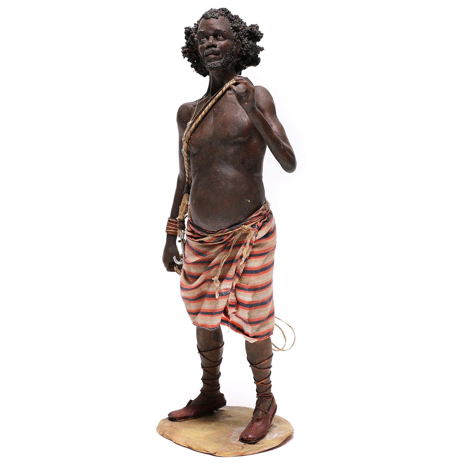 Slave with rope, 30 cm Tripi Nativity Scene 4