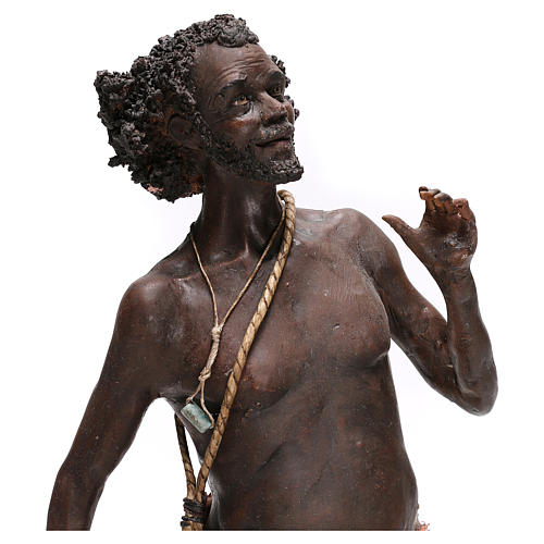 Slave with rope, 30 cm Tripi Nativity Scene 6