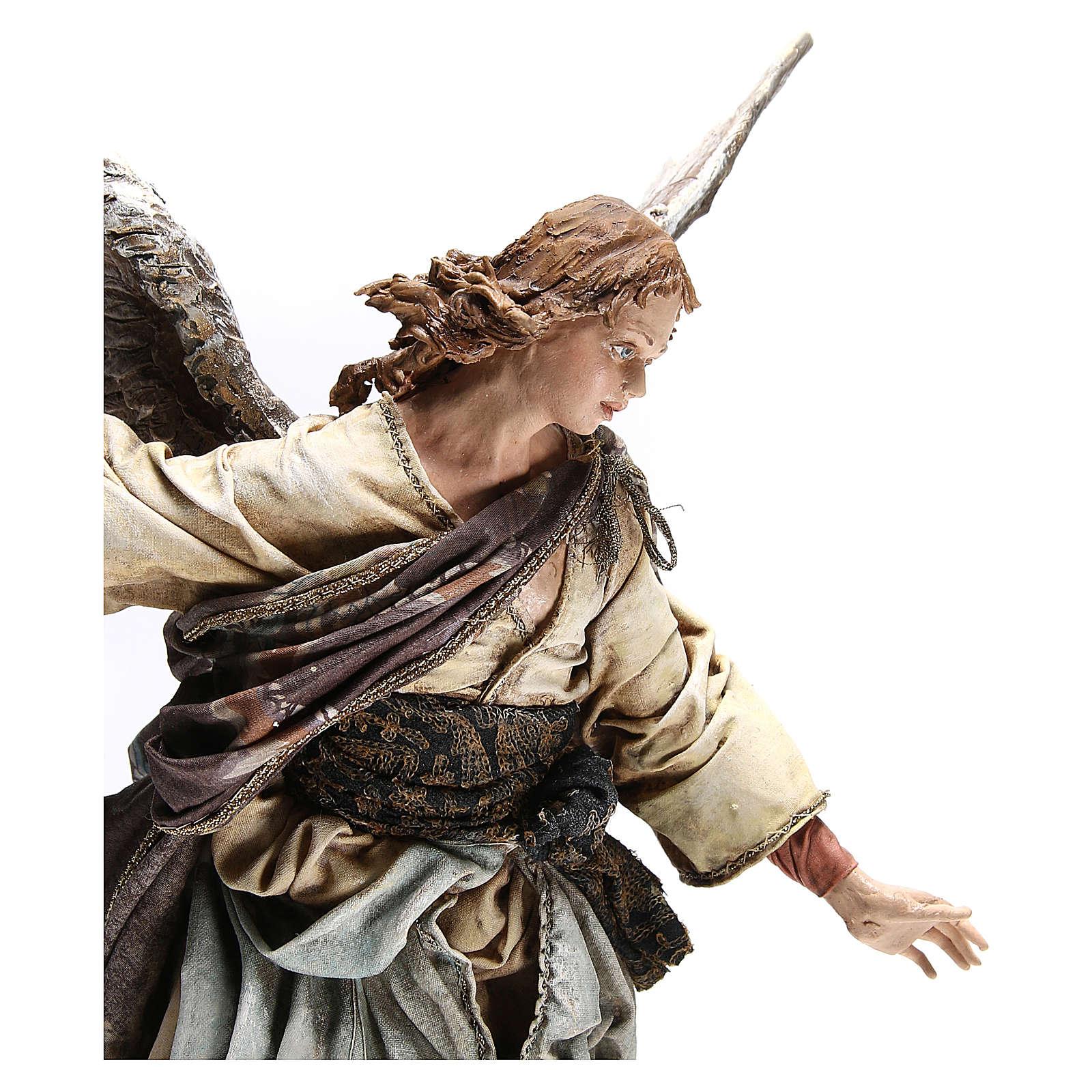 Standing angel statue, 30 cm Angela Tripi Nativity Scene 4