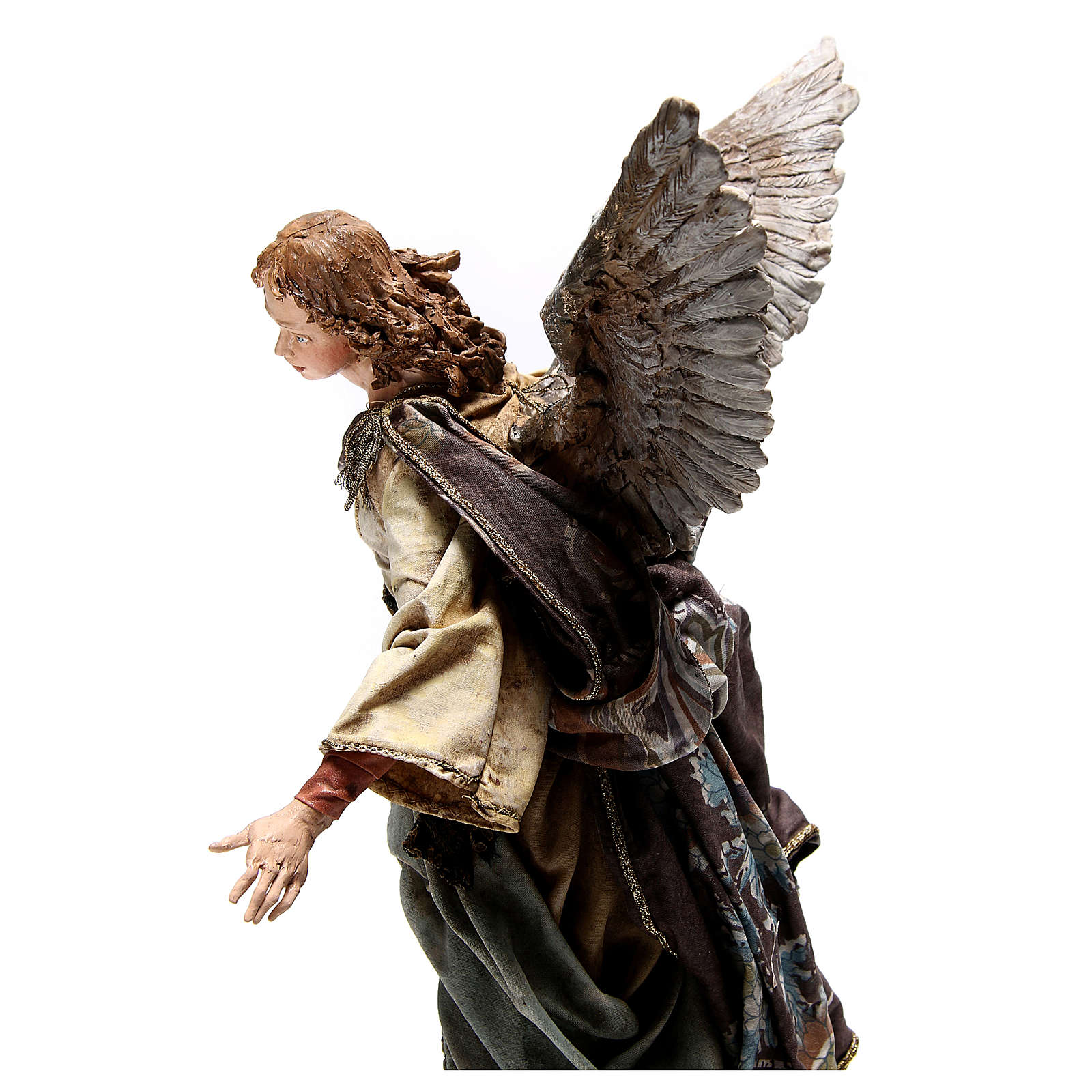 Standing angel statue, 30 cm Angela Tripi Nativity Scene 4