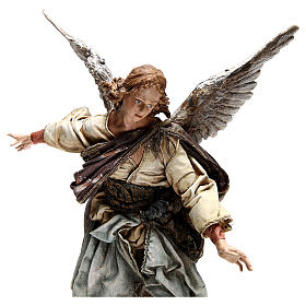 Standing angel statue, 30 cm Angela Tripi Nativity Scene s4