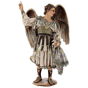Standing angel statue, 30 cm Angela Tripi Nativity Scene s1