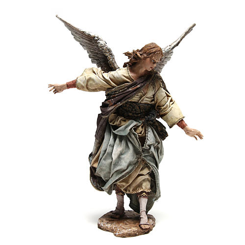 Standing angel statue, 30 cm Angela Tripi Nativity Scene 3