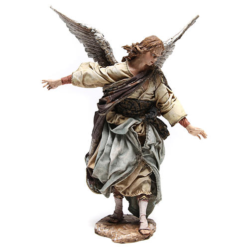 Standing angel statue, 30 cm Angela Tripi Nativity Scene 5