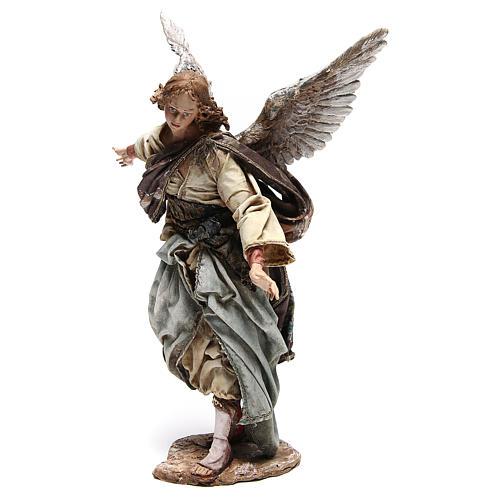 Standing angel statue, 30 cm Angela Tripi Nativity Scene 7