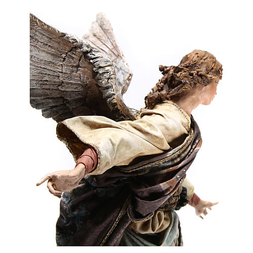 Standing angel statue, 30 cm Angela Tripi Nativity Scene 8