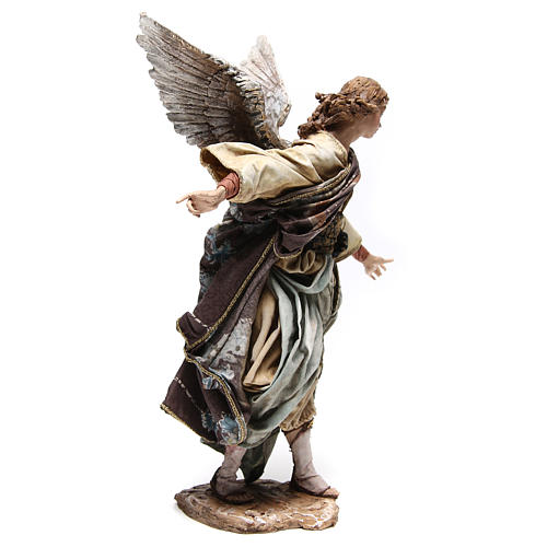 Standing angel statue, 30 cm Angela Tripi Nativity Scene 9