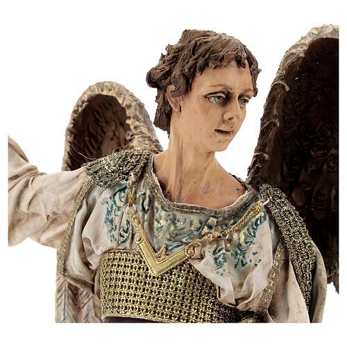 Standing angel statue, 30 cm Angela Tripi Nativity Scene 2