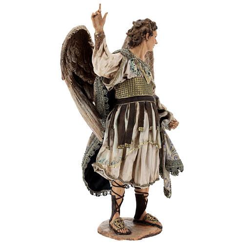 Standing angel statue, 30 cm Angela Tripi Nativity Scene 5