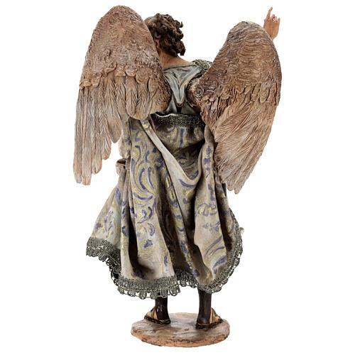 Standing angel statue, 30 cm Angela Tripi Nativity Scene 10
