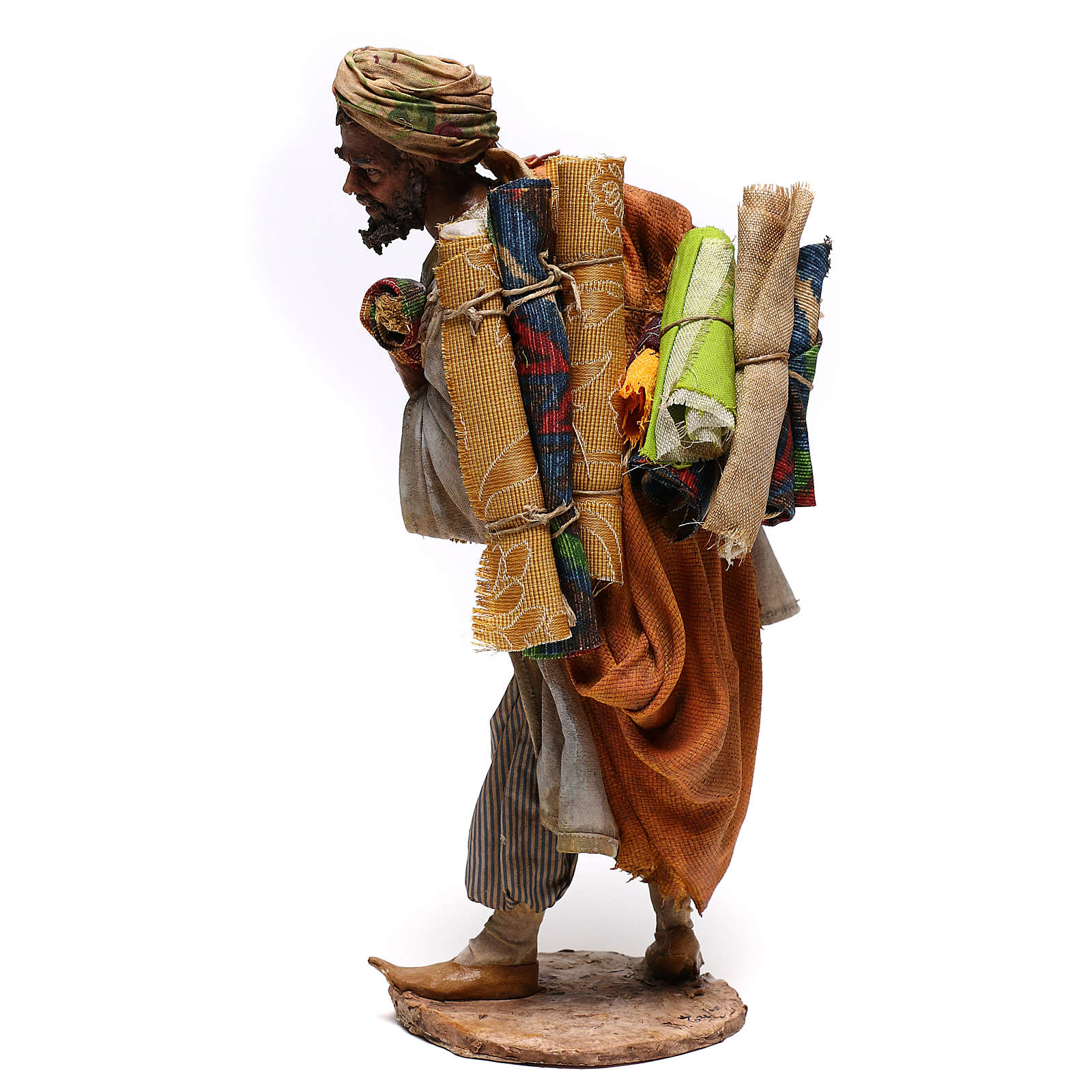 Rug merchant figurine, 30 cm Angela Tripi 4