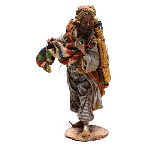 Rug merchant figurine, 30 cm Angela Tripi 1