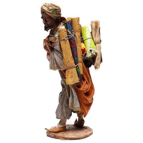 Rug merchant figurine, 30 cm Angela Tripi 3