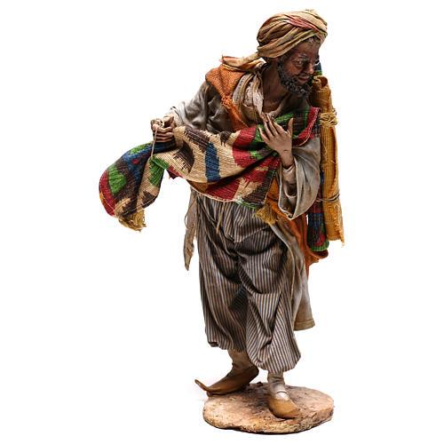 Rug merchant figurine, 30 cm Angela Tripi 5
