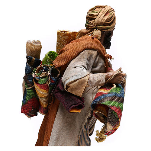 Rug merchant figurine, 30 cm Angela Tripi 7