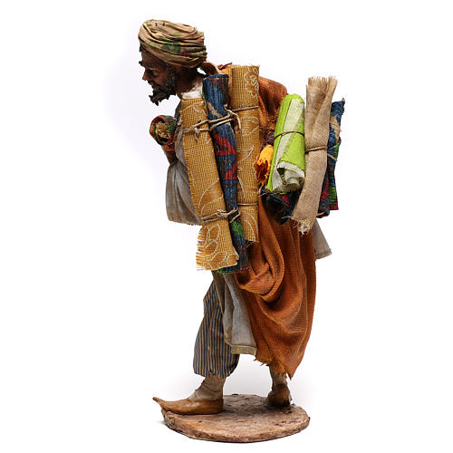 Rug merchant figurine, 30 cm Angela Tripi 9