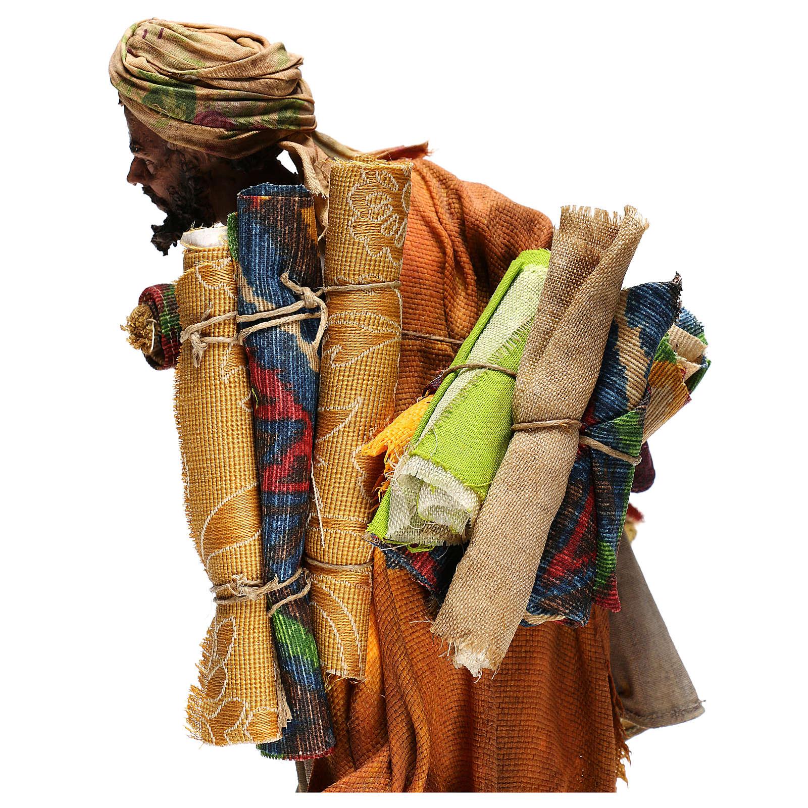 Vendeur de tapis crèche Tripi 30 cm 4