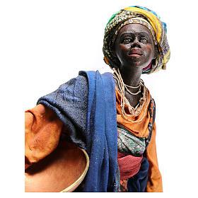 Mujer con escudilla 30 cm creación Angela Tripi s5
