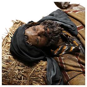 Hombre que duerme 30 cm: pastor que duerme belén Tripi s2