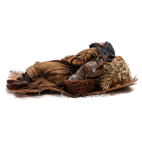Hombre que duerme 30 cm: pastor que duerme belén Tripi 10