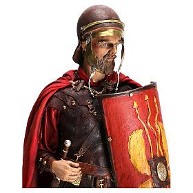 Standing Roman soldier, 30 cm Angela Tripi Nativity figurine s2