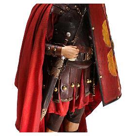 Standing Roman soldier, 30 cm Angela Tripi Nativity figurine s4