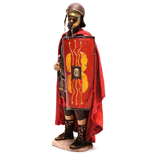 Standing Roman soldier, 30 cm Angela Tripi Nativity figurine 3